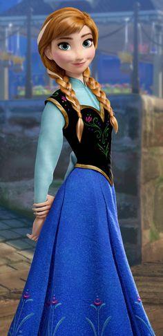 Creating Princess Anna