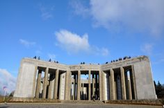 The American Memorial at Mardasson Hill – Bastogne (Belgium) ©WBT JL Flémal Europe Places, World War Ii, Belgium, Wwii, Places To See, Tourism, Military, Memories, Statue