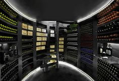 The exceptional capacity of a Maxi oval cellar!