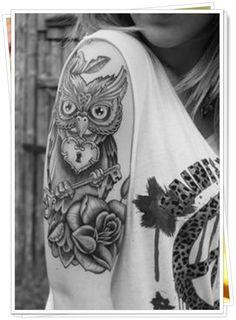 owl tattoo18