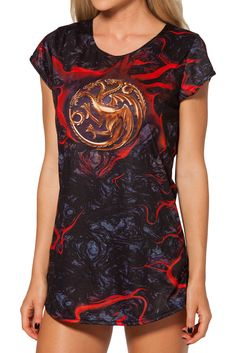 Team Targaryen GFT by Black Milk Clothing $60AUD