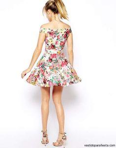 Juveniles vestidos cortos de moda casual verano 2014 – 10