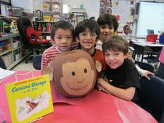 Gorgeous George! Pumpkins Become... Our Favorite Story Book Characters!