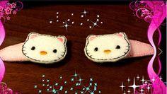 Elena Ricami di Silvia Ottolini: Clips Bimba: Hello Kitty