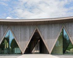 LOCALARCHITECTURE builds pavilion for swiss animal park