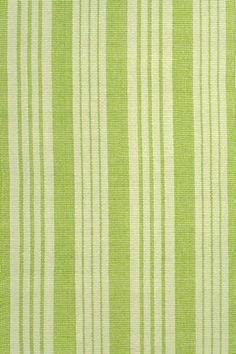 Birmingham Green Woven Cotton Rug