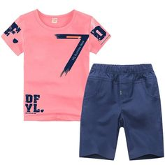 Boys Summer Outfits, Summer Boy, Sport Outfits, Boy Outfits, Set Fashion, Fashion Casual, Kids Fashion, Baby Boy Clothing Sets, Outfit Sets