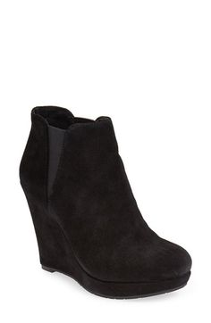 Free shipping and returns on Jessica Simpson 'Cavanah' Leather Wedge Bootie (Women) at Nordstrom.com. Soft leather wraps an essential wedge bootie designed with stretchy side panels for a custom fit.