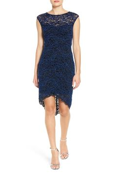 Lace Midi Dress (Juniors) by JUMP on @nordstrom_rack