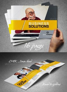 professional booklet