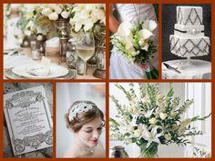 Downton Abbey wedding theme
