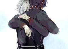"namekko: "" when guren finally comes back home and into shinya's arms """