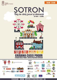 """""""Șotron"""", primul târg de cărți, jocuri și distracții pentru copii și adolescenți, organizat de Muzeul Literaturii Române Iași"""