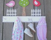To hang her precious little girl's stuff!