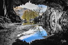 Inside Rydal Cave at the Loughrigg Fell by Andreas Pidde