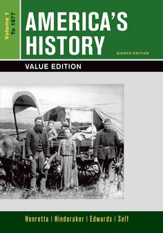 Pin by brook hanson on us history course pinterest americas history value edition volume 1 fandeluxe Image collections
