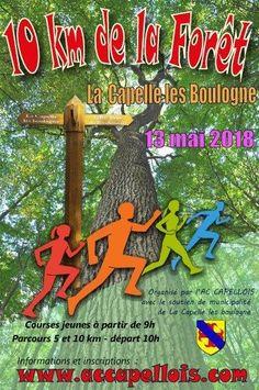 10 km de la forêt à La Capelle Les Boulogne, https://chti-sportif.fr/calendrier/10km-foret-la-capelle-les-boulogne-2018/
