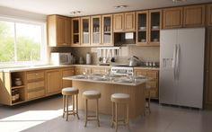 21 meilleures images du tableau cuisine avec ilot | Kitchen design ...
