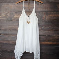 paper hearts | Flower child flowy boho dress | white – shop hearts