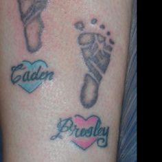 Footprint heart tattoo http://dethzen.deviantart.com/art/First-Footprints-79955029?q=meta%3Aall+boost%3Apopular+Footprint+tattoo=36==0=36