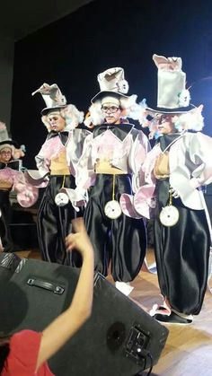 Presentación disfraz Murga Infantil Frikywiky´s 2015