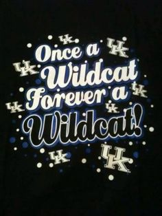 Forever a wildcat! Uk Wildcats Basketball, Kentucky Basketball, Men's Basketball, University Of Kentucky, Kentucky Wildcats, Kentucky Sports, Go Big Blue, My Old Kentucky Home, Basketball Pictures