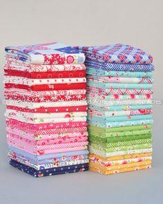 Westwood Acres Fabric — Pam Kitty Garden Fat Quarter Bundle