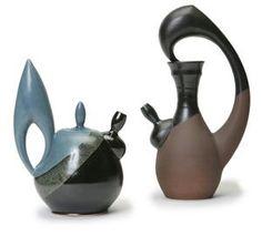 Kenny Delio - Teapots #ceramics #pottery #teapot: