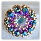 Schéma de bague en perles n°036 de NEW PERLE http://www.newperle.fr/lang-fr/bagues-perles-schema-bague-perles.c-290_291_447.html