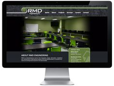 A look at how we created the brand new RMD Engineering website. Engineering, Web Design, Product Launch, Industrial, Website, Projects, Log Projects, Design Web, Electrical Engineering