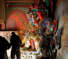 The Guardian Kings of Kumbum in Gyantse, Tibet | Flickr - Photo Sharing!