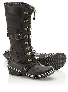 CONQUEST™ CARLY $225 carly sorel winter boots #minnesota #minnesnowta #snow