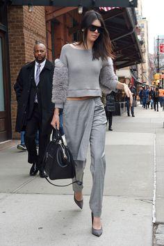 Kendall Jenner's Apron Pants