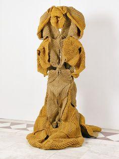 Mrinalini Mukherjee woven sculpture