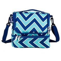 Wildkin Zig Zag Refresh Double Decker Lunch Bag : Target