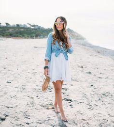#lifestyle #fashion #modavou #beachdress