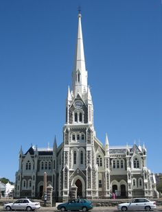 Graaff-Reinet Dutch Reformed Church in South Africa. The church is right in the center of town and it's the fourth church to be built on the same spot. It is said to be one of the best examples of early Gothic style architecture in South Africa. Places Around The World, Around The Worlds, Monuments, Les Religions, Church Architecture, Cathedral Church, Old Churches, Church Building, Place Of Worship