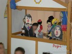 Κουκλοθέατρο ένα ποίημα 28th October, Autumn Activities, Toy Chest, Doll Clothes, Kindergarten, Family Guy, Diy Crafts, Dolls, Fictional Characters