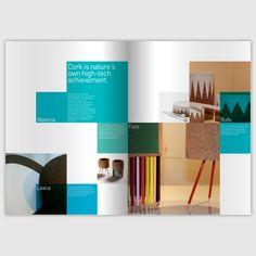 Amorim Cork Composites Communication Plan 2012/13 by MIGUEL PALMEIRO DESIGNER , via Behance