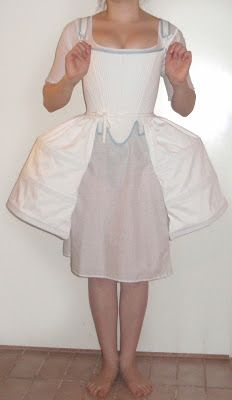 Rococo Atelier: Pocket hoops and petticoats for 1760's and 1770's