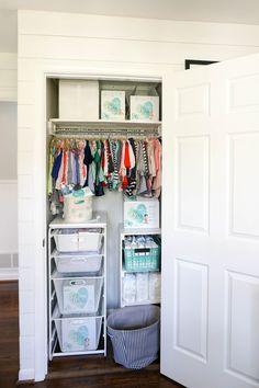 3 Adorably Designed Diaper Changing Stations + Organization Hacks