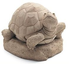 Studio William the Turtle Sculpture - -Carruth Studio William the Turtle Sculpture - - Turtle Toddler Garden Statue how to draw a turtle Pottery Animals, Ceramic Animals, Clay Animals, Ceramic Art, Sculptures Céramiques, Sculpture Clay, Sculpture Garden, Ceramic Turtle, Fountain Design
