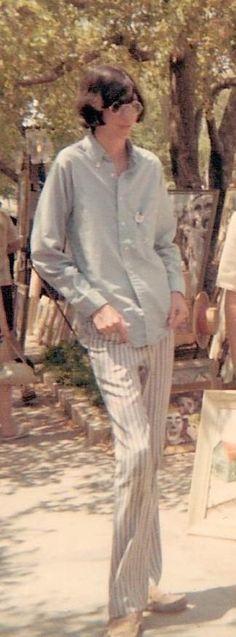 A 16 year old Joey Ramone   Coconut Grove, Florida 1967