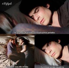 The Vampire Diaries Elena & Damon The Vampire Diaries 3, Vampire Diaries The Originals, Delena, Series Movies, Movies And Tv Shows, Tv Series, Ian And Nina, Anna, Original Vampire