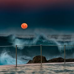 Blood Moon by Marshall Ward, via Flickr