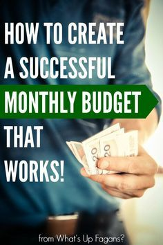 Here's how to create a successful monthly budget, that will actually work for you! Successful budgeting is made easy with this FREE Excel doc spreadsheet.