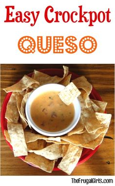 Easy Crockpot Queso!