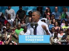 VIDEO: Obama talks about himself 137 times during speech for Hillary - The American MirrorThe American Mirror
