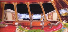 Star Trek: The Motion Picture - USS Enterprise Interior Concept Art