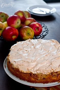 Apple Meringue Cake-1